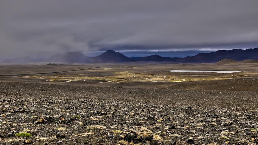 Modrudalur, desert, Iceland