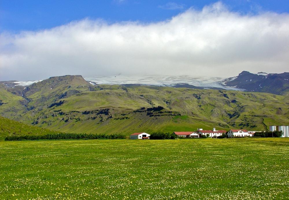 Þorvaldseyri, Islande, Eyjafjallajökull