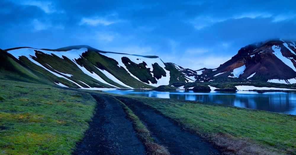 lac, paysage, Islande, Frostastadavatn, Landmannalaugar