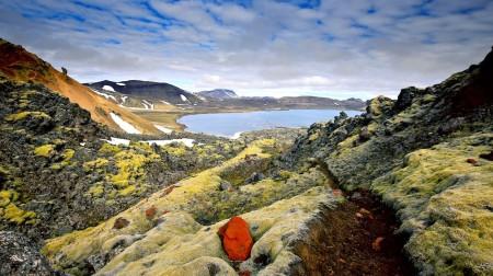 Islande, paysage, lave