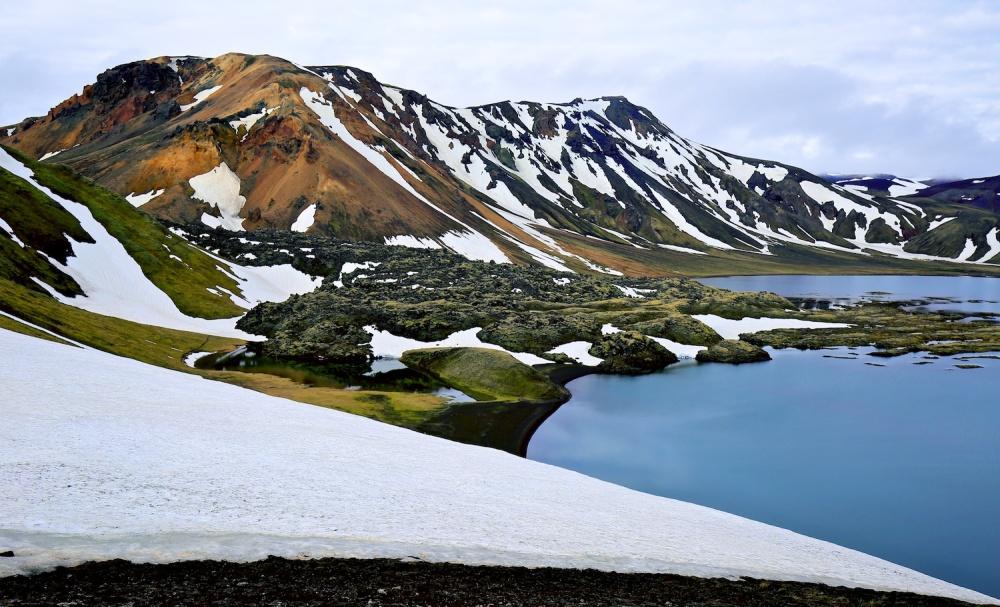 paysage, Islande, Landmannalaugar, namshraun