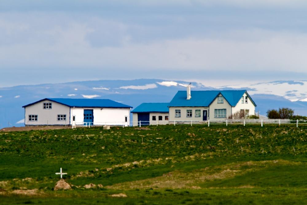 ferme, Islande, Valshamar
