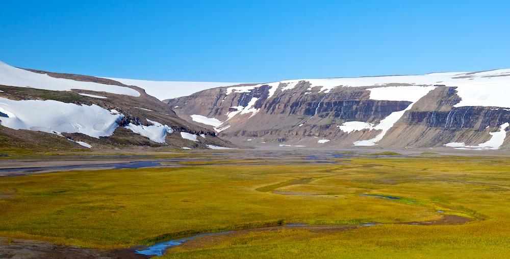 Drangajokull, glacier, Islande