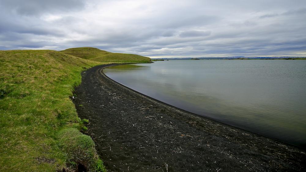 Hofdi, Myvatn, paysage, Islande
