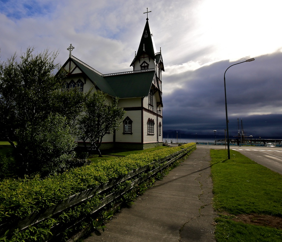 Husavik, église, Islande