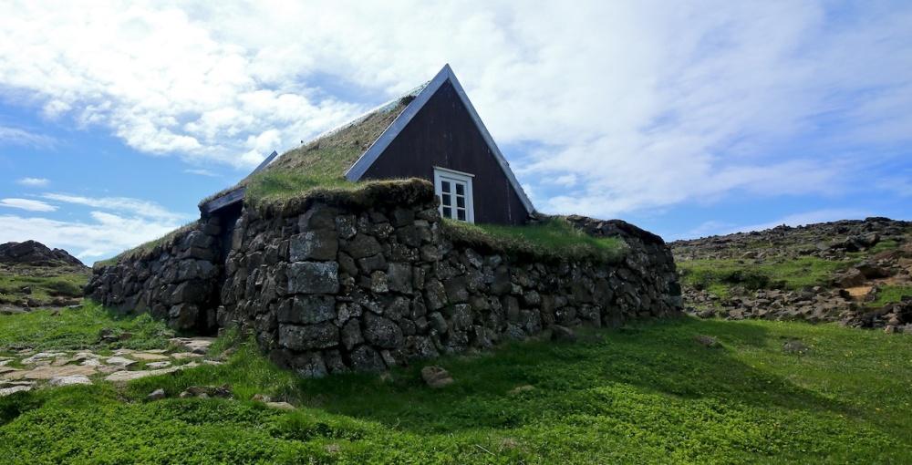 hutte, Hveravellir, Islande