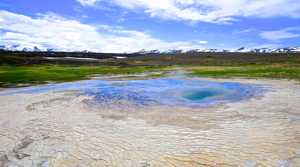Hveravellir, source, géothermie, Islande