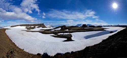 Stytur, paysage, Hveravellir, Islande