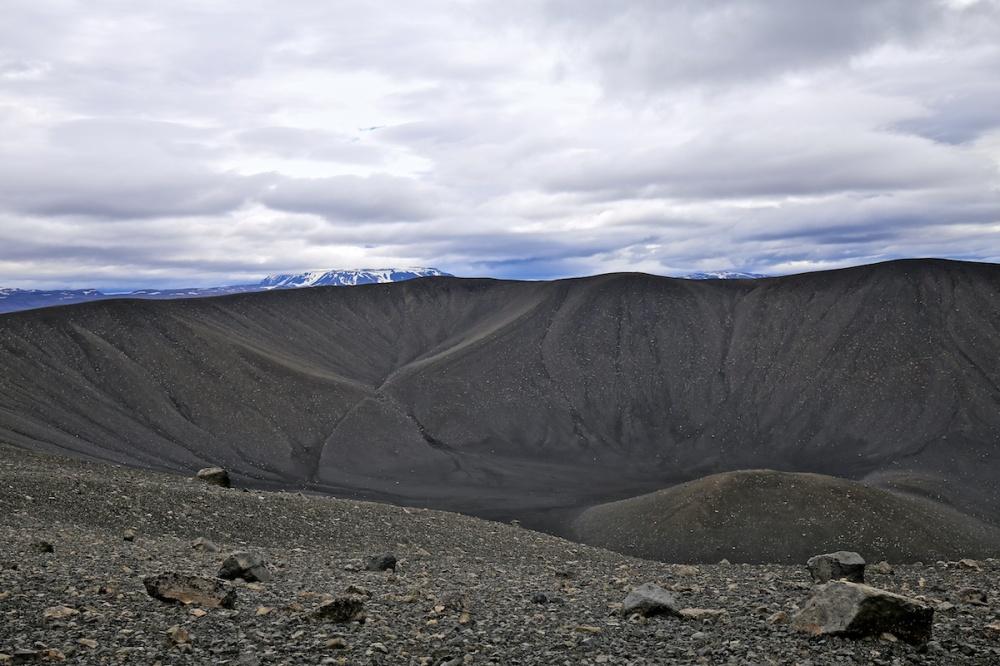 Hverfell, paysage, volcan, Islande