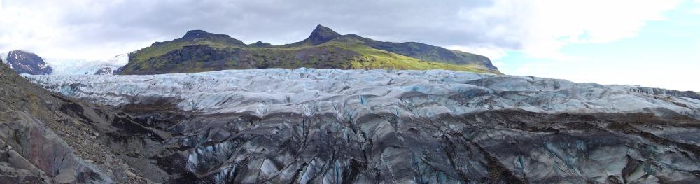 Svinafellsjokull, glacier, Islande
