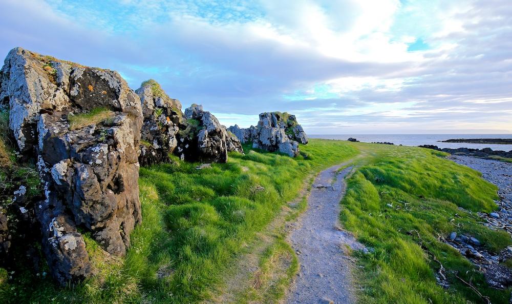 Illugastadir, Vatnsnes, paysages, Islande