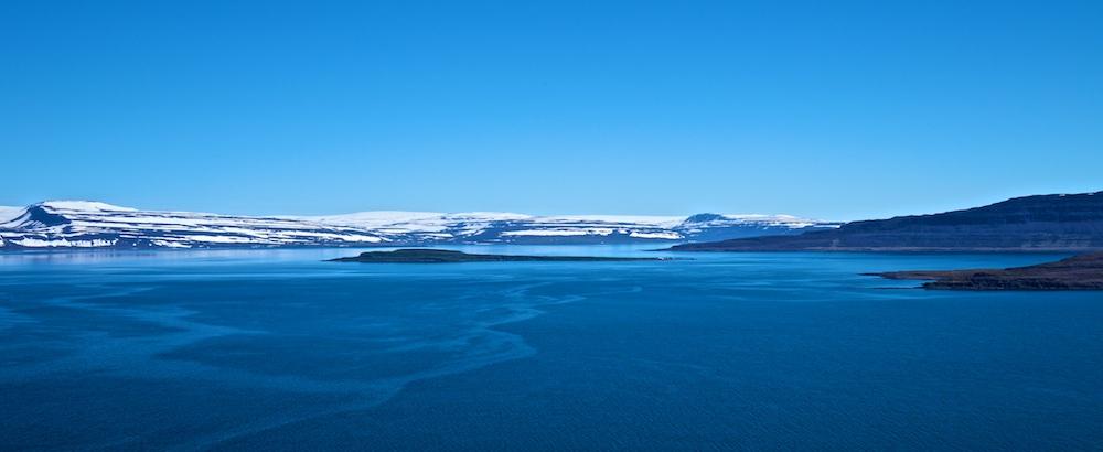 Drangajokull, Isafjardardjup, paysages, Islande