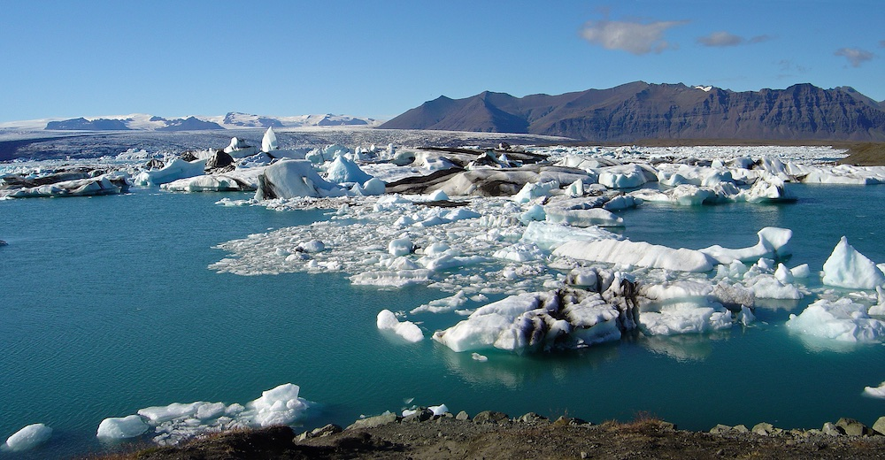 jokulsarlon, iceberg, paysages, Islande