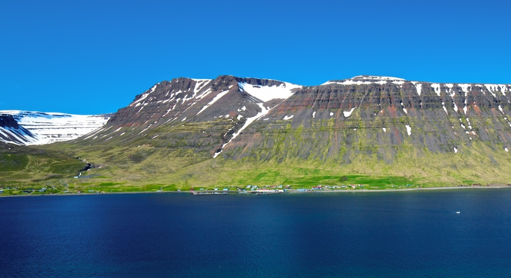 Sudavik, Isafjardardjup, paysages, Islande
