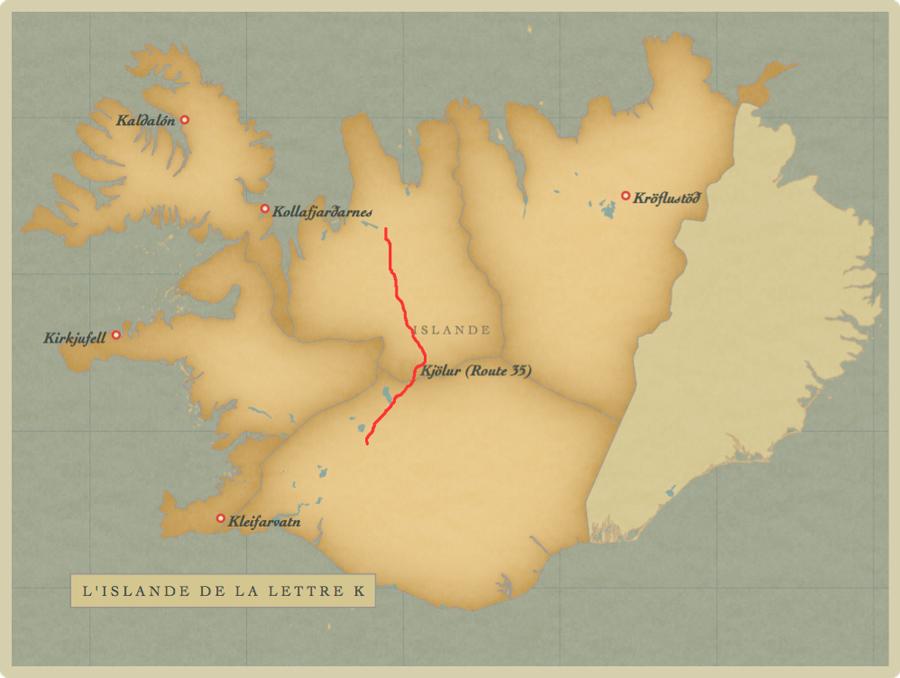 Iceland-K-map