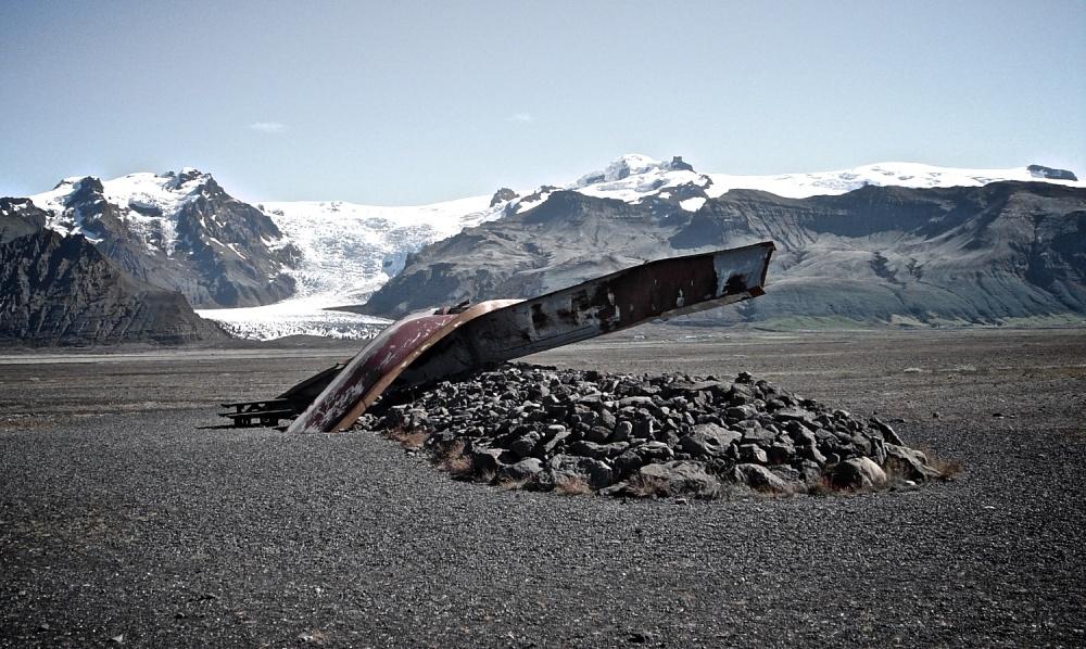 jokulhlaup, 1996, volcan, glacier, Islande