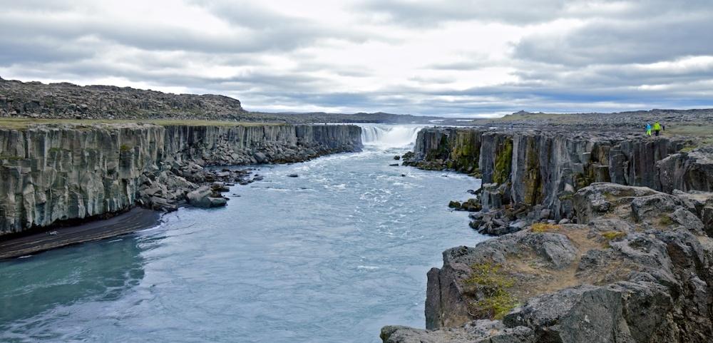 Jokulsargljufur, Selfoss, Islande, cascade, chutes