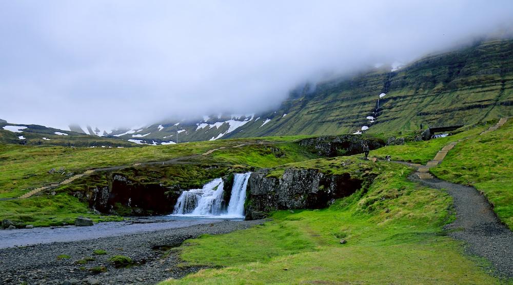 Kirkjufellsfoss, Snæfellsnes , chute d'eau, Islande, paysages