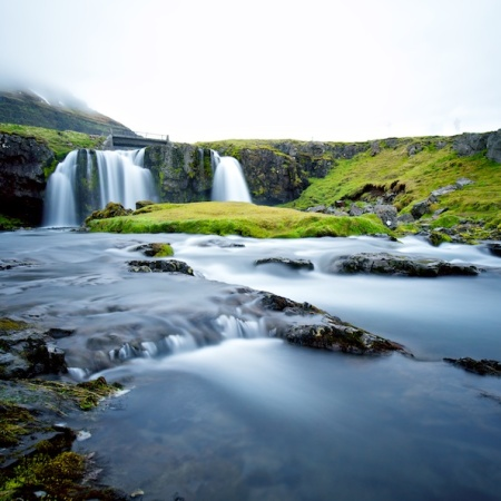 Kirkjufellsfoss, Paysages, Islande, cascade