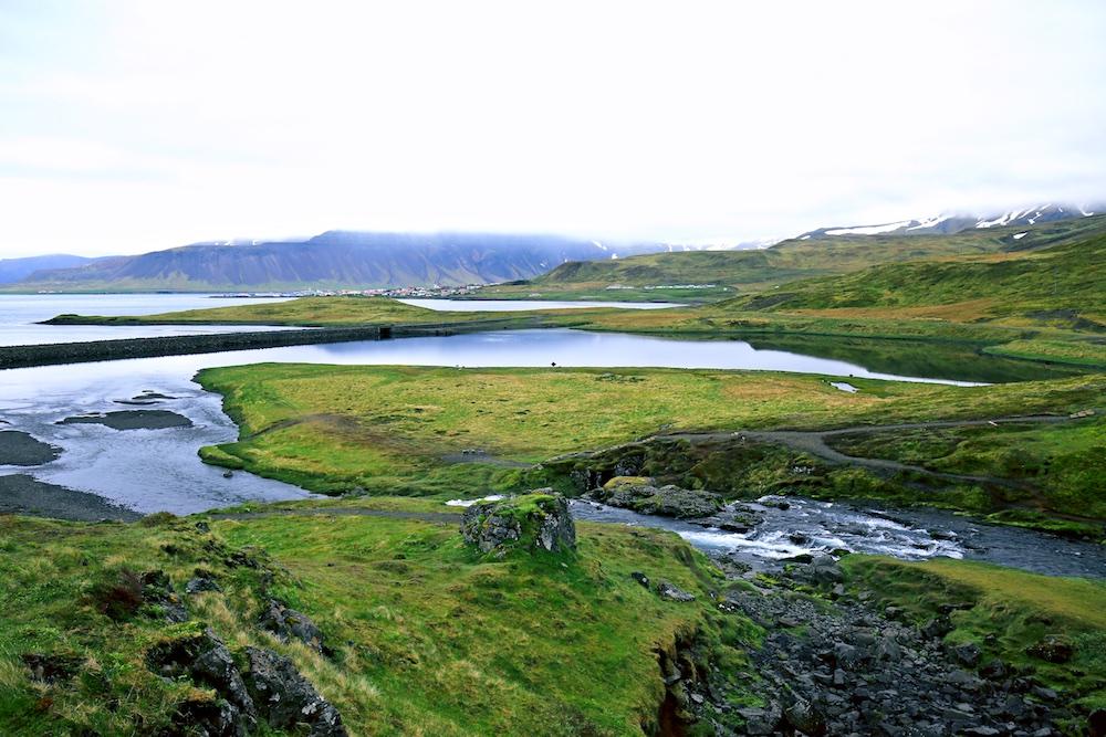 Kirkjufellsfoss, Grundarfjordur, Islande, paysages