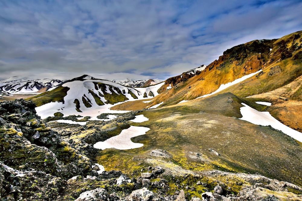 Sudurnamur, Landmannalaugar, Islande, Paysages, volcan