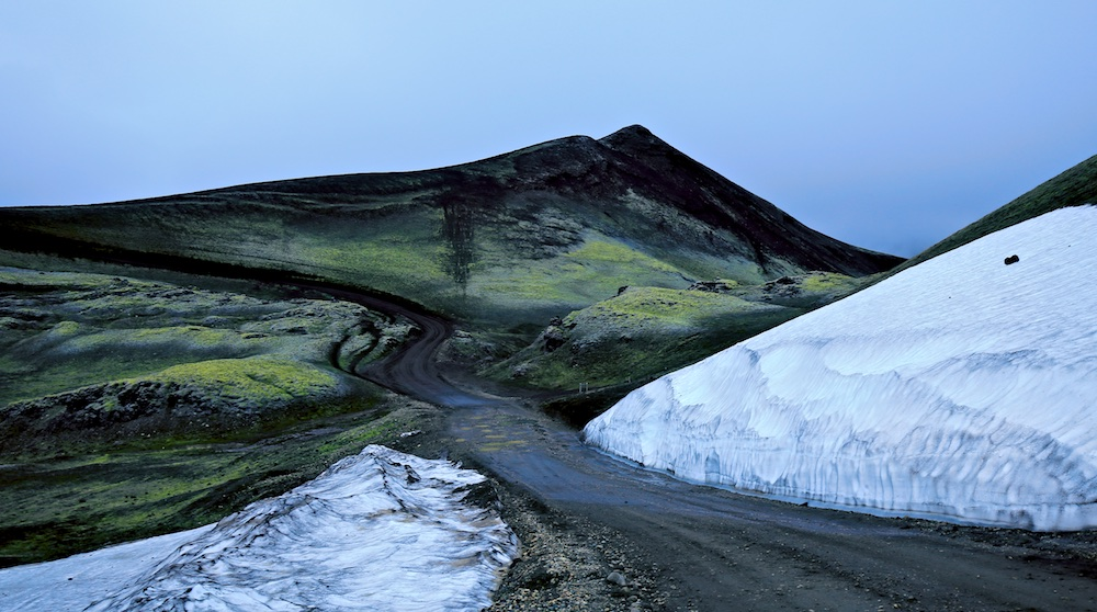 F208, Landmannalugar, paysages, Islande