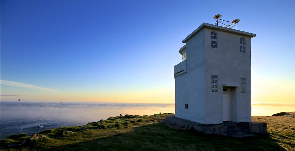 Bjargtangar, phare, Latrabjarg, Islande