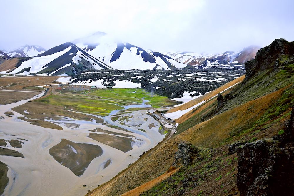 Laugahraun, Blahnukur, Sudurnamur, Paysages, Islande, Landmannalaugar