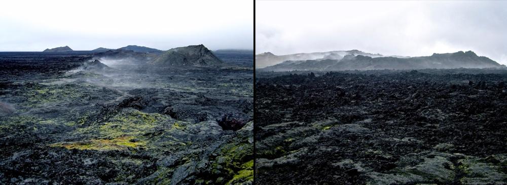 Leirhnjúkshraun, Leirhnjúkur, Islande