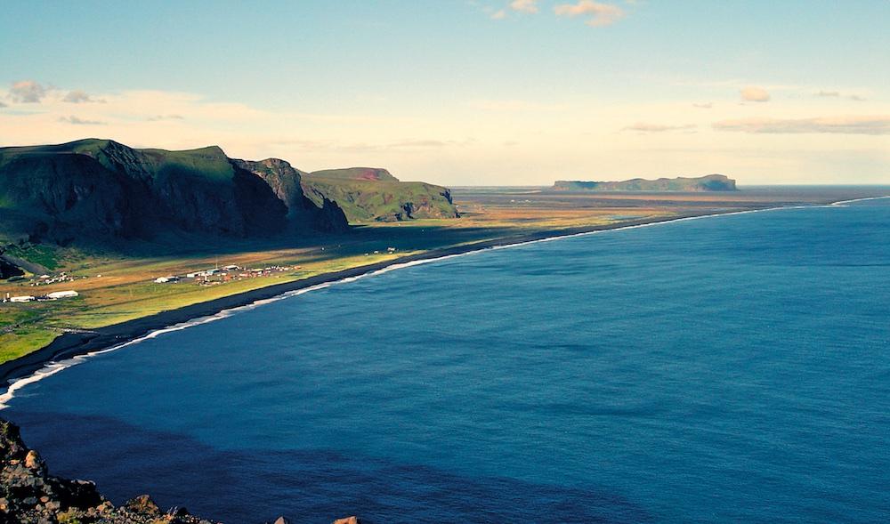 Myrdalssandur, Vik, paysages, Islande