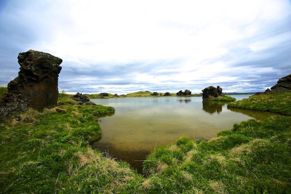 Hofdi, lac, Myvatn, Islande