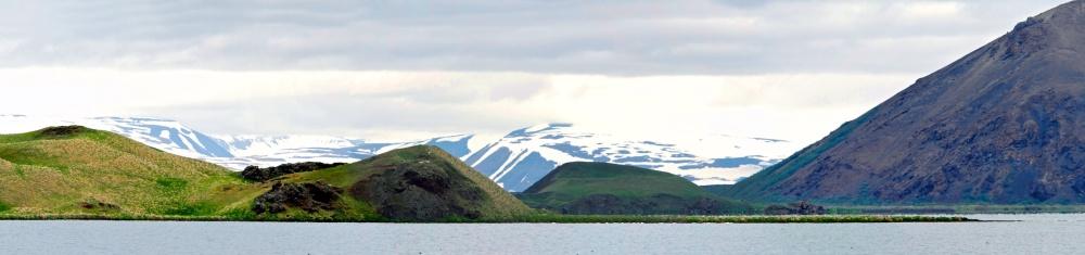 Paysage, Islande, lac Myvatn