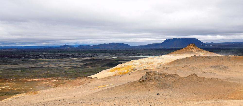 Burfellshraun, paysages, Islande