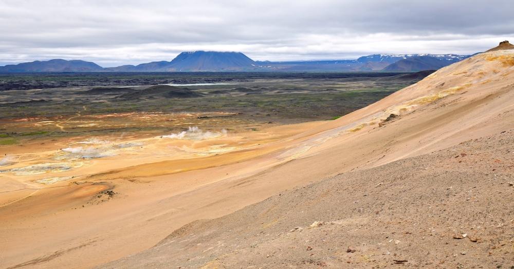 Hverarond, namafjall, Islande, paysage