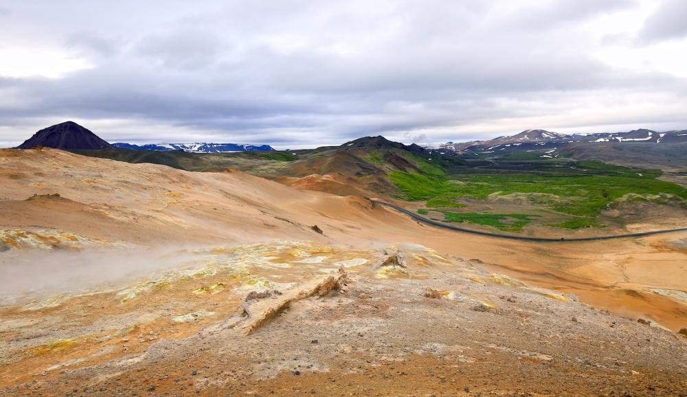 Paysages, Islande, Namaskard, route 1