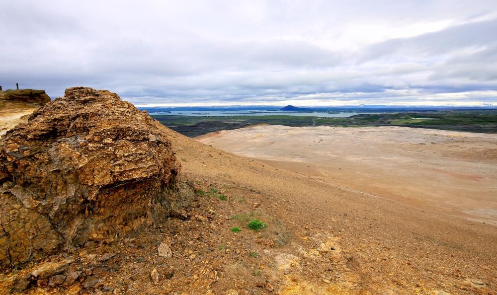 Paysages, Islande, Namajfall, Myvatn
