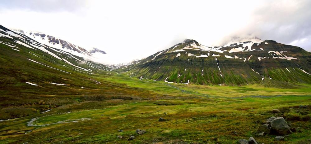 paysages, Islande, montagnes,