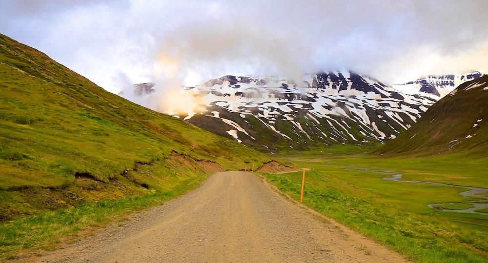 Trollaskagi, route 82, paysages, Islande