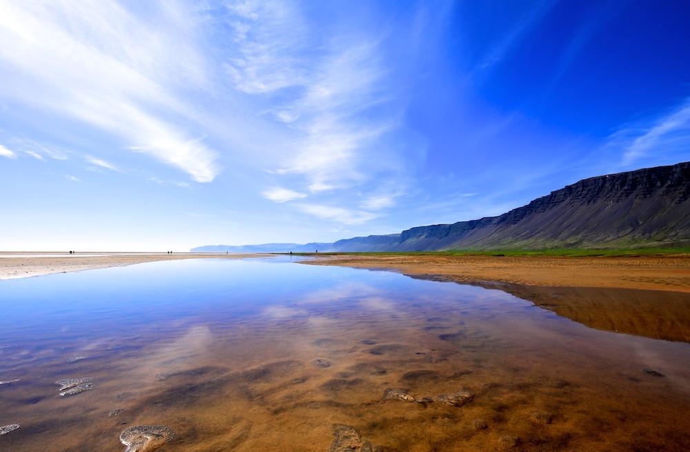 plage, Raudisandur, Paysages, Islande