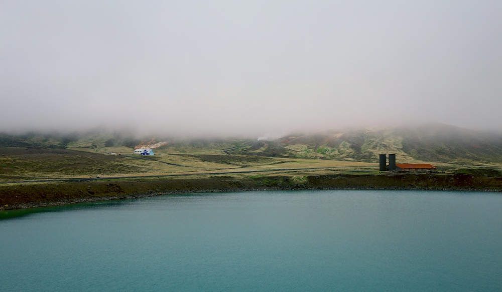 Graenvatn, lac, paysages, Islande