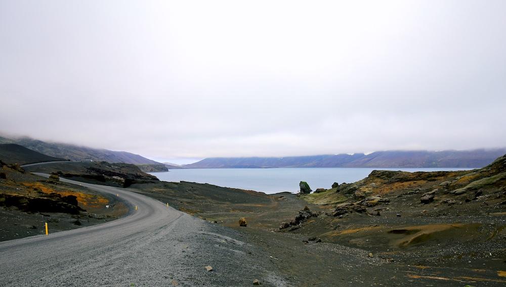 lac Kleifarvatn, paysages, Islande, Reykjanes