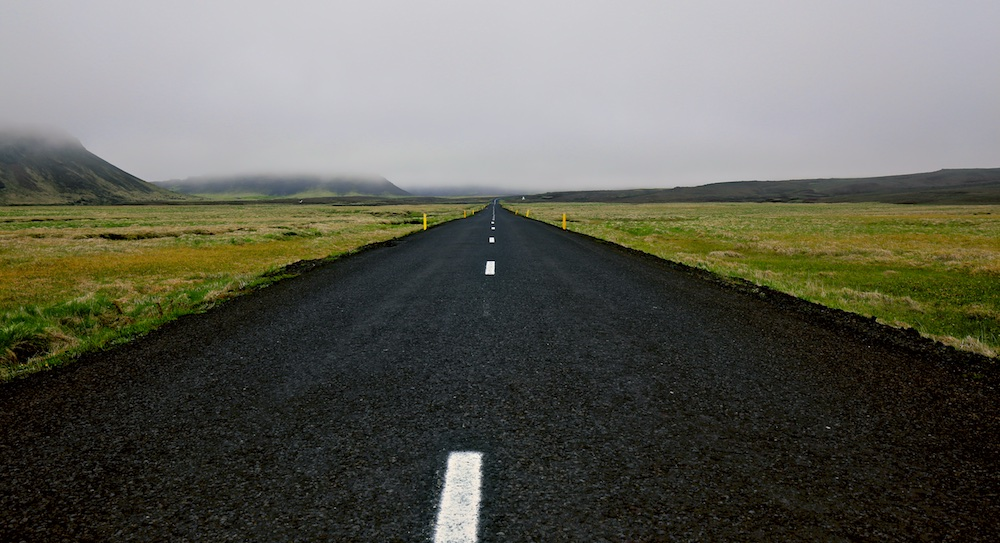 Sudurstrandarvegur, paysages, route 42, Islande