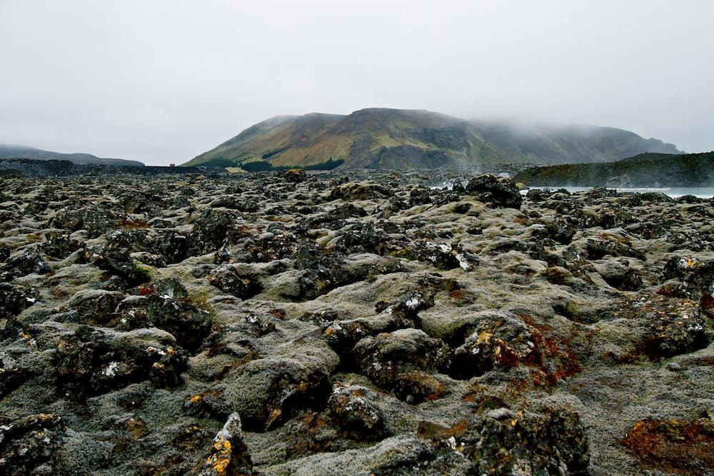 champ de lave, Reykjanes, paysages