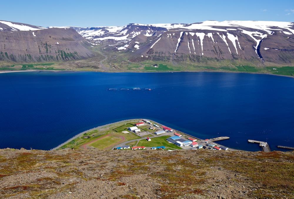 Thingeyri, Sandafell, paysages, Islande