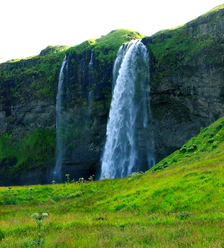 Seljalandsfoss, cascade, Islande, paysages