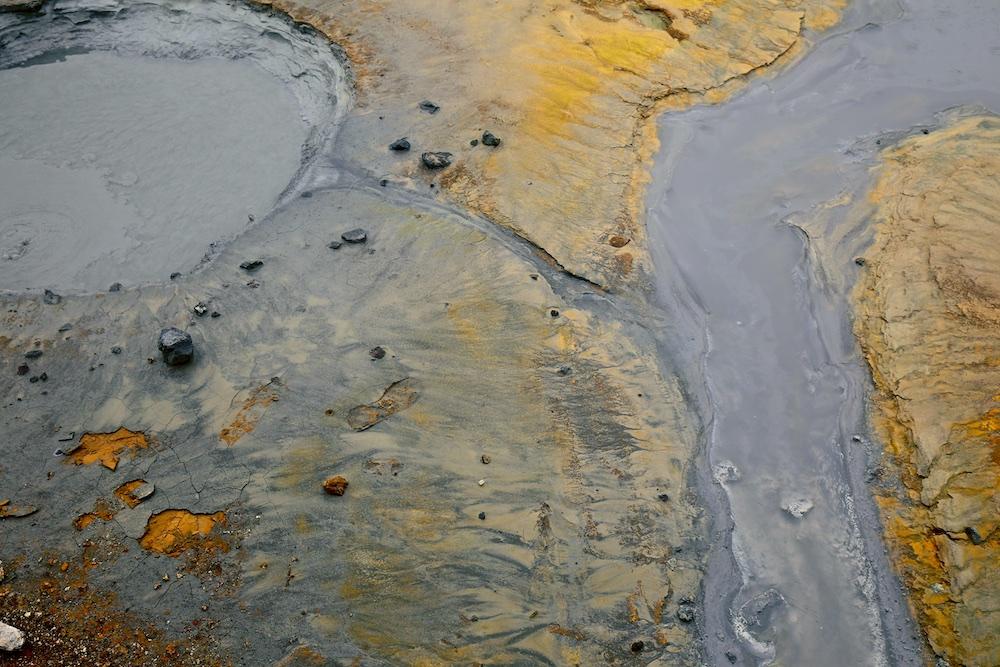 marmite de boue, Seltun, volcanique, Islande
