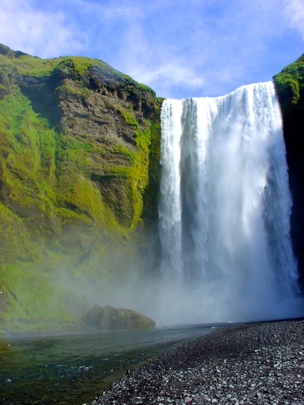 Skogafoss, cascade, Islande