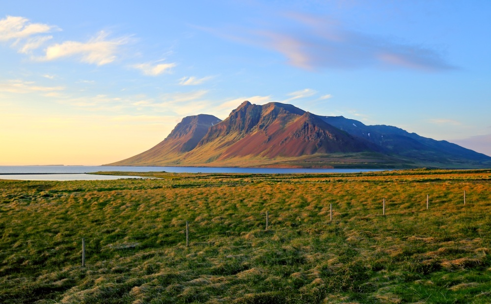 Bjarnarhafnarfjall, paysages, Islande