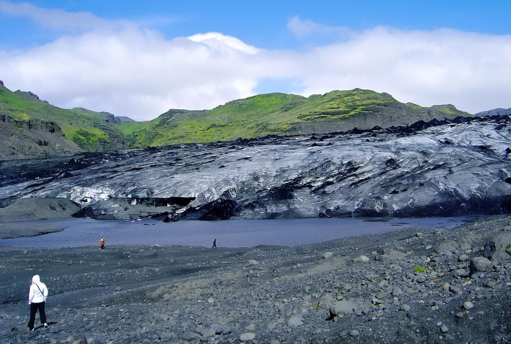 Solheimajokull, glacier, Islande