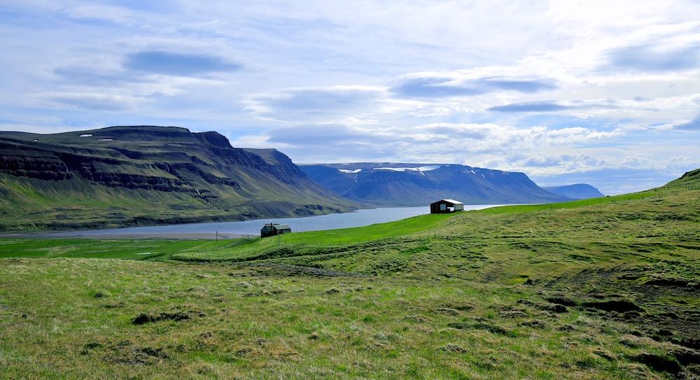 Steinadalsheidi, route 690, Islande